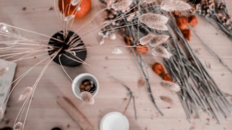 Indian Summer in je interieur: droogbloemen en warme kleuren